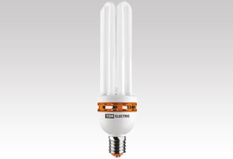 Лампа энергосберегающая КЛЛ-8U-200 Вт-6500 К–Е40 (125х363 мм) TDM