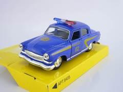 GAZ-21 Volga Police blue AutoPark 1:43