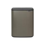 Мусорный бак Touch Bin Bo 2 х 30 л, артикул 221521, производитель - Brabantia