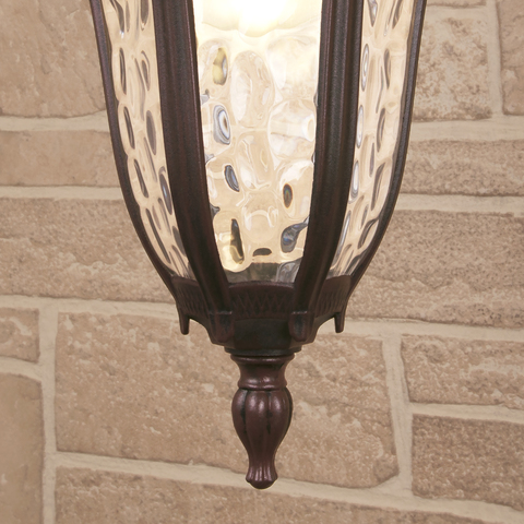 Draco H капучино уличный подвесной светильник IP44 GL 1010H