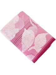 173 полотенце Улыбка, розовое