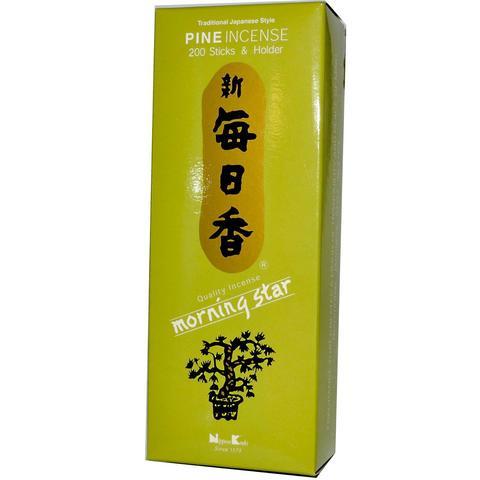 Японские благовония Morning Star Pine 200 шт