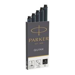Чернила в патронах Parker черные (5 штук в упаковке)