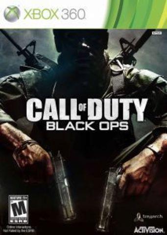 Xbox 360 Call of Duty: Black Ops (английская версия)