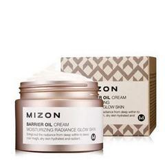 Увлажняющий крем для лица на основе масла оливы MIZON Barrier Oil Cream 50 мл
