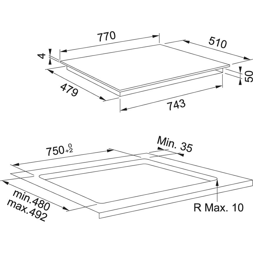 Индукционная варочная поверхность Franke Smart FSM 804 I B BK
