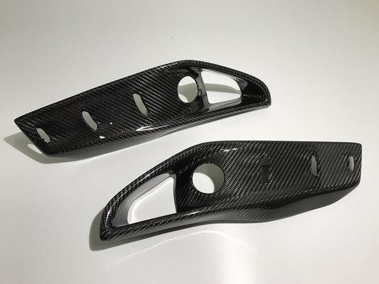 Карбоновые накладки  переднего бампера  для BMW X5 M F85