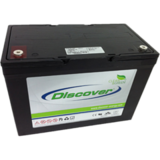 Тяговый аккумулятор Discover EV512A-100 ( 12V 100Ah / 12В 100Ач ) - фотография