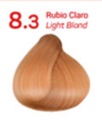 8.3 светлый золотистый блондин. Краситель для волос с эффектом лифтинга KV-1