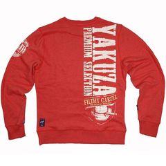 свитшот красный Yakuza Premium 2623