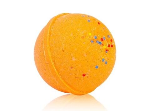 Гейзер макси-шар Оранжетто для ванн с морской солью и маслами, d 9см,280±15гр. TMChocoLatte