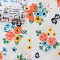 Ткань для пэчворка, хлопок 100% (арт. JO0804)