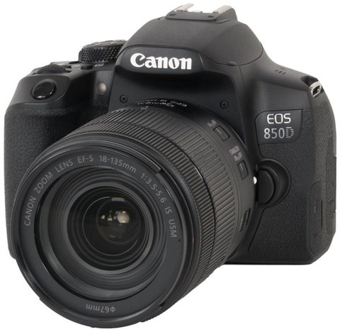 фотоаппарат Canon EOS 850D kit 18-135mm  IS USM