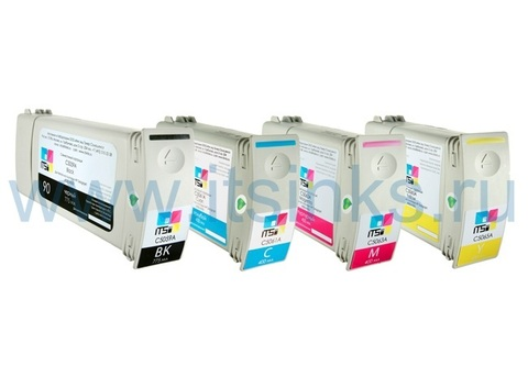 Комплект из 4 картриджей HP 90