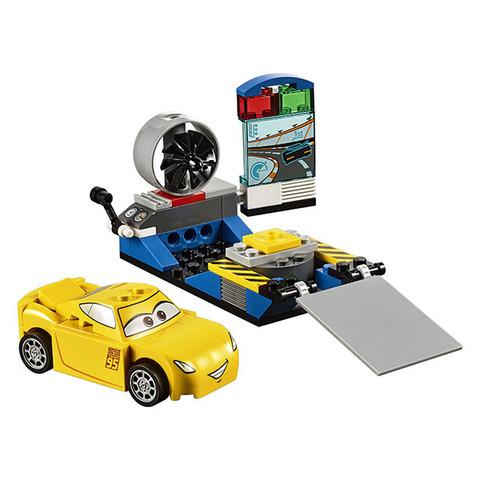 LEGO Juniors: Гоночный тренажёр Крус Рамирес 10731 — Cars Cruz Ramirez Race Simulator — Тачки Лего Джуниорс Подростки