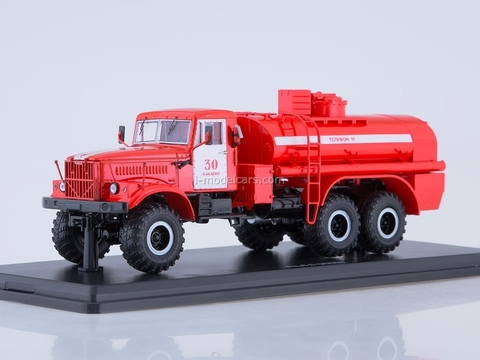 KRAZ-255B fire-fighting tanker AC-8,5 1:43 Start Scale Models (SSM)