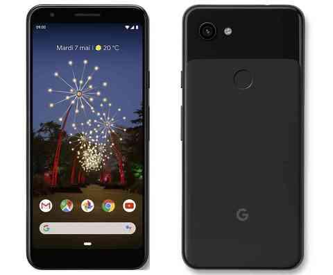 Смартфон Google Pixel 3a 64GB Just Black (Черный)