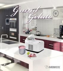 Мороженица Nemox Gelato Grand Clear (белая)