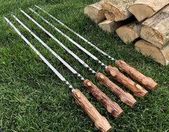 Шампур с деревянной ручкой Пенёк, 45см