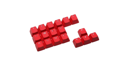 Клавиши Tai-Hao «Rubber Red»