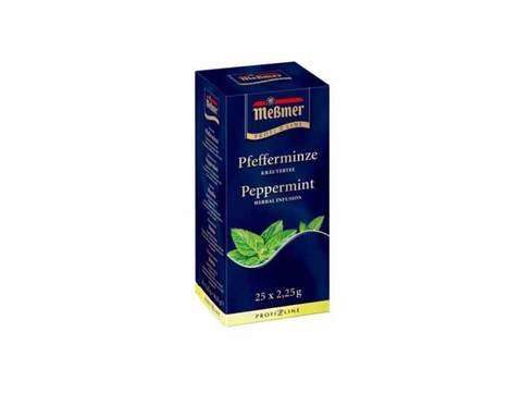 Чай травяной в пакетиках Messmer Мята, 25 пак/уп, 2,25 г
