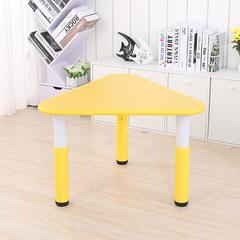 Пластиковый регулируемый треугольный стол 70х70