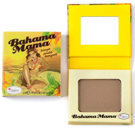 theBalm Bahama Mama Travel-Size компактный бронзатор 3 г