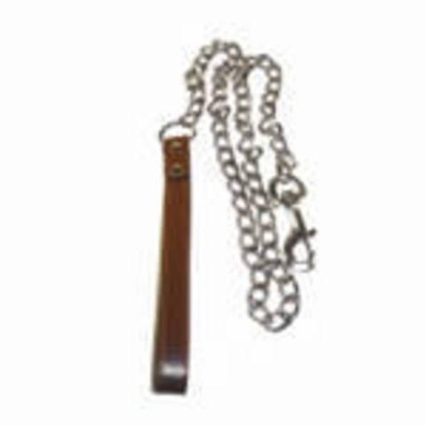 SHL3511 Ч2-314 ТРИОЛ Цепь-поводок кожан.ручка 3,5*110  *12*72