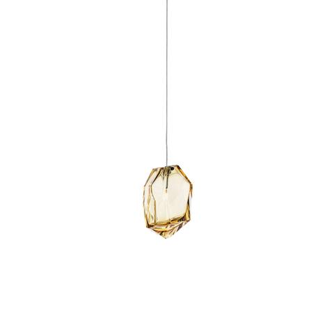 Подвесной светильник Crystal Rock by Lasvit (коричневый)