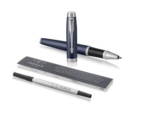 Набор: Ручка роллер и Шариковая ручка Parker IM Core Matte Blue CT123