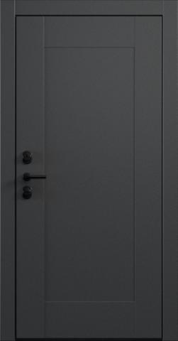 Входная дверь «Quadro 1» в цвете, Эмаль грэй