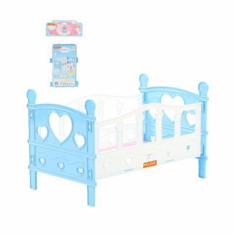 Кроватка сборная для кукол №2 5элементов /62048