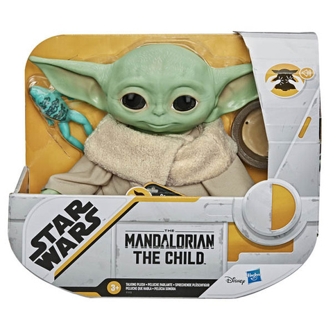 Фигурка Star Wars Mandalorian The Child Talking Plush