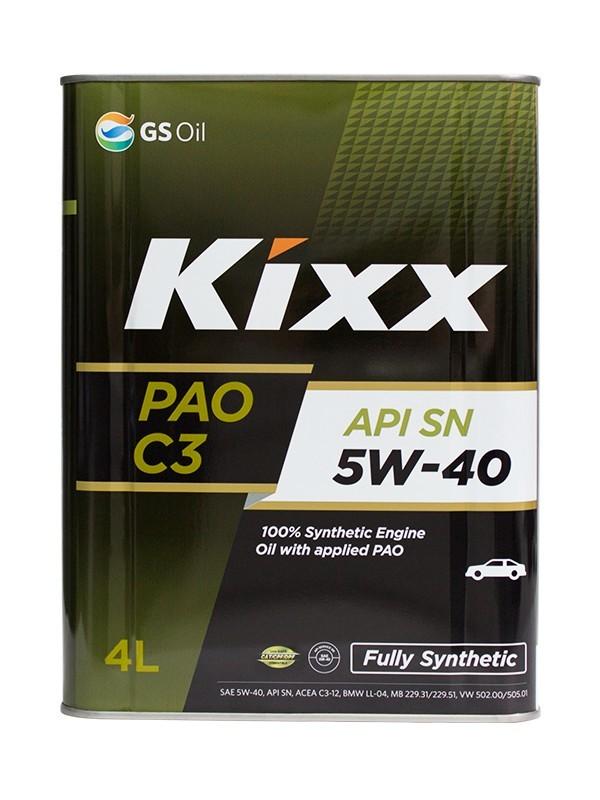 L209244TE1 Kixx PAO 5w-40 масло моторное синтетическое (4 Литра) Действующая тара