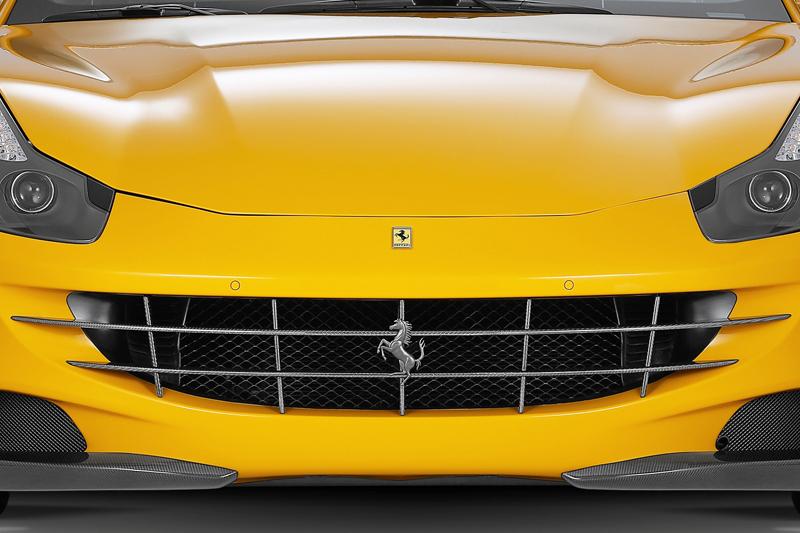 Карбоновая решетка радиатора Novitec Style для Ferrari FF