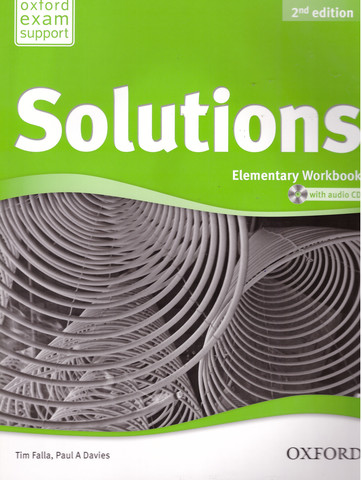 Solutions (2nd edition) Elementary: Workbook and Audio CD Pack