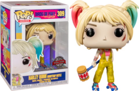 Birds of Prey. Harley Quinn Boobytrap Battle Special Edition Funko Pop! || Хищные Птицы. Харли Квинн с кувалдой