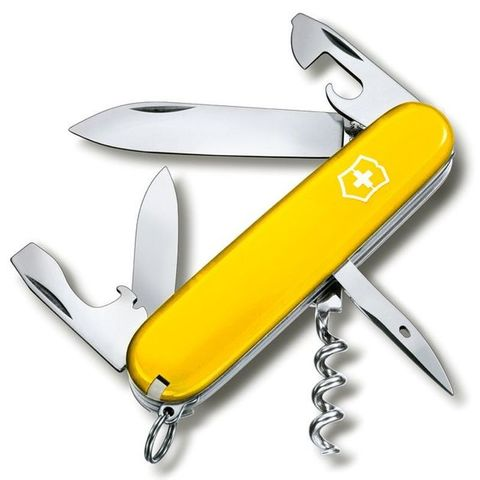 Нож перочинный Victorinox Spartan (1.3603.8R) 91мм 12функций желтый