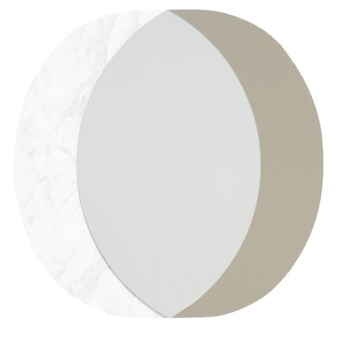 Зеркало FOLK Enza Home мрамор