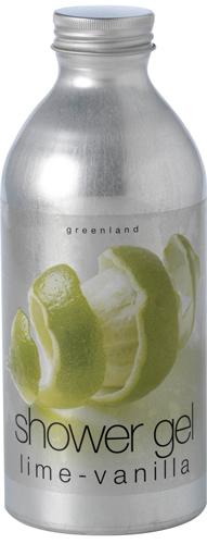 Гель для душа лайм-ваниль, Greenland