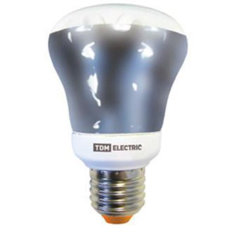 Лампа энергосберегающая КЛЛ- RM80 FR-15 Вт-4000 К–Е27 TDM