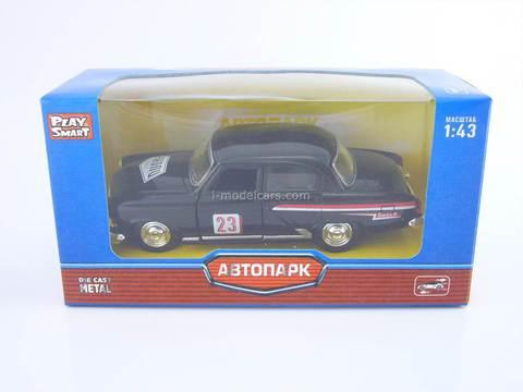 GAZ-21 Volga Rally 1962 AutoPark 1:43