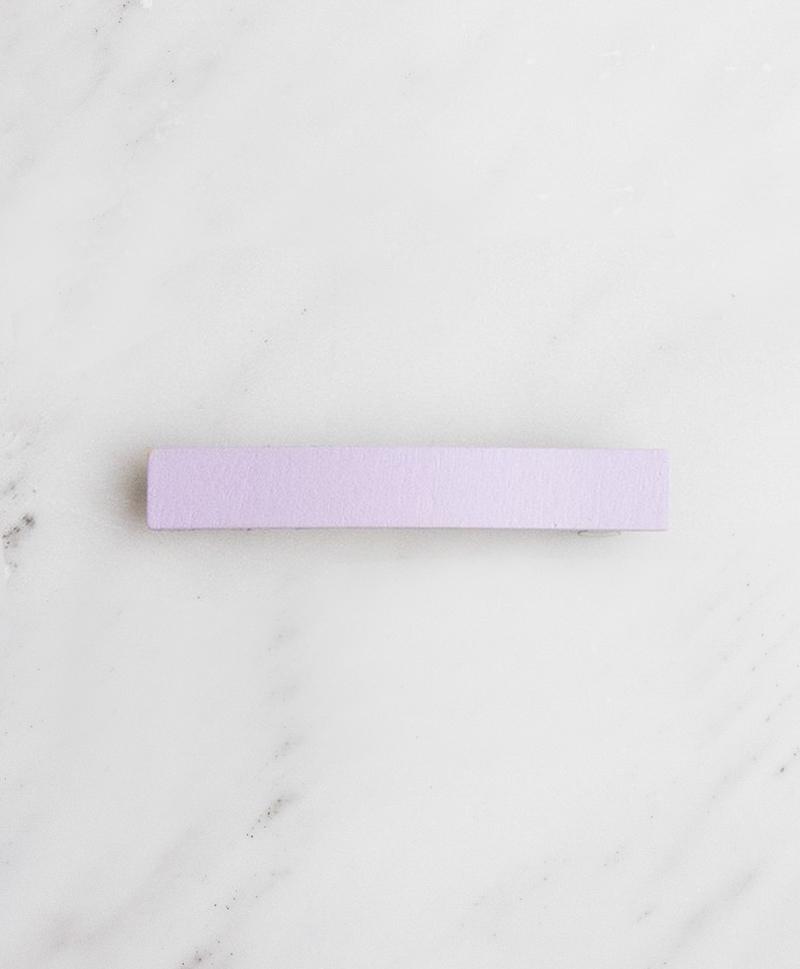 Заколка Bar Hair Clip mini лиловая