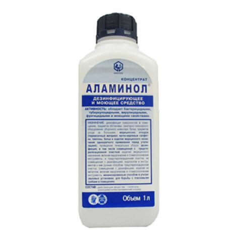 Дезинфицирующее средство-концентрат. Алламинол 1л.