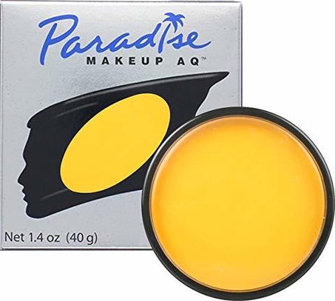 MEHRON Профессиональный аквагрим Paradise, Аквагрим Yellow (Желтый), 40 г