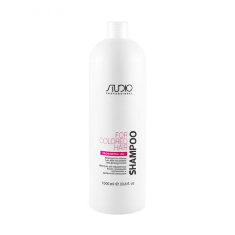 Kapous, Шампунь для окрашенных  волос  с рисовыми протеинами и экстрактом женьшеня