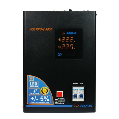 Стабилизатор напряжения Энергия Voltron 5000 (5%)