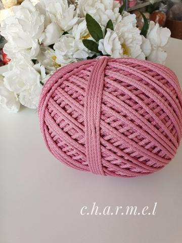 Розовый Полиэфирный шнур 5 мм