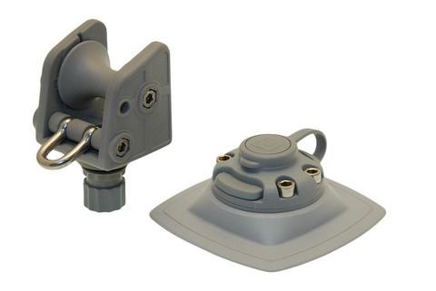 Роликовый узел для якоря с набором на надувной борт ARp002, серый