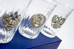 Подарочный набор граненных стаканов «Неподвластный времени», фото 6